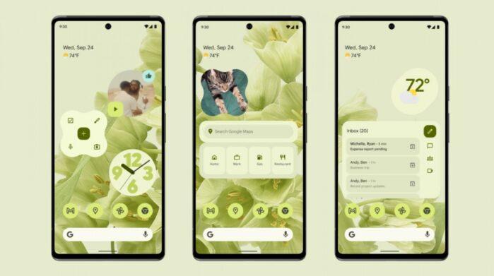 Android 12 ufficiale sui Google Pixel 3 e successivi