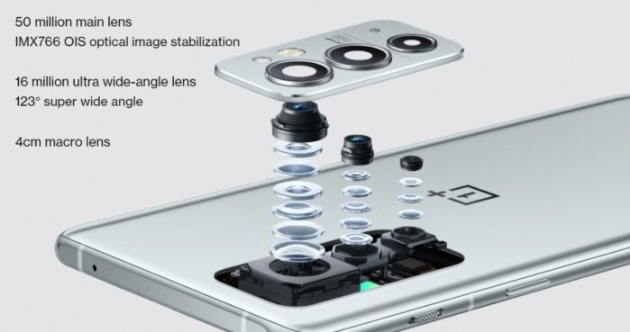 OnePlus 9RT fotocamere