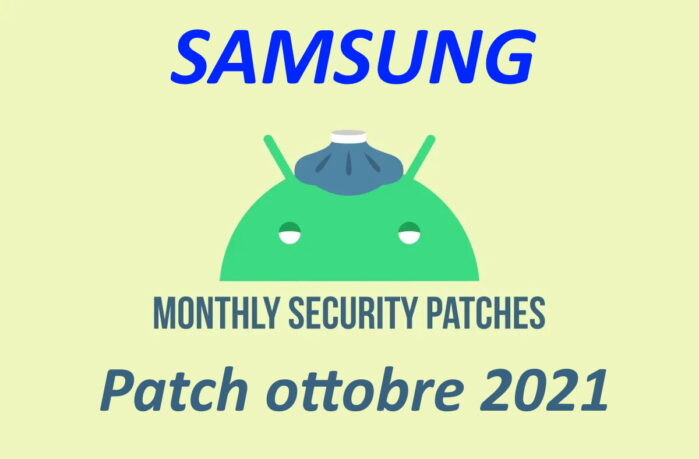 Patch sicurezza ottobre 2021 Samsung dettagli