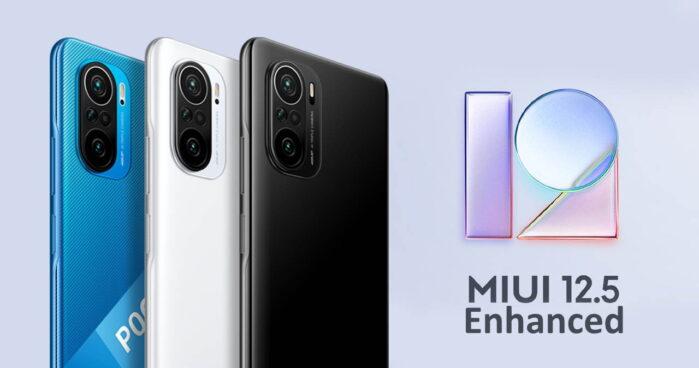 Poco F3 aggiornamento MIUI 12.5 Enhanced