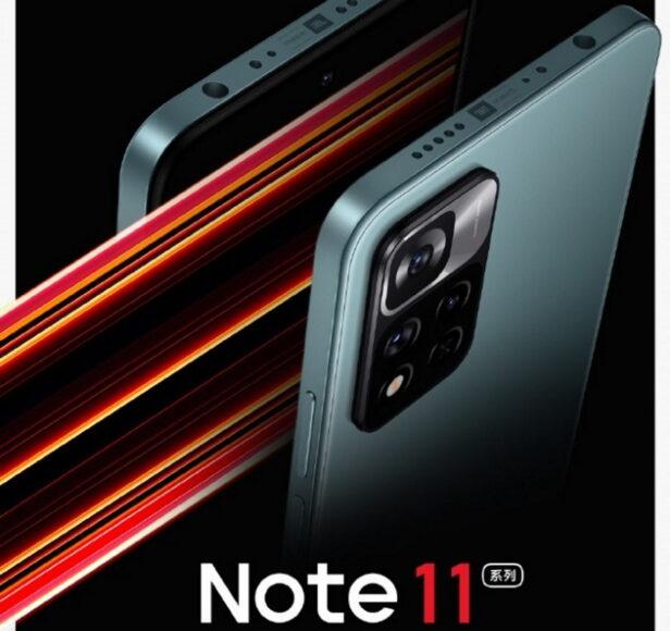 Redmi Note 11 annuncio in Cina