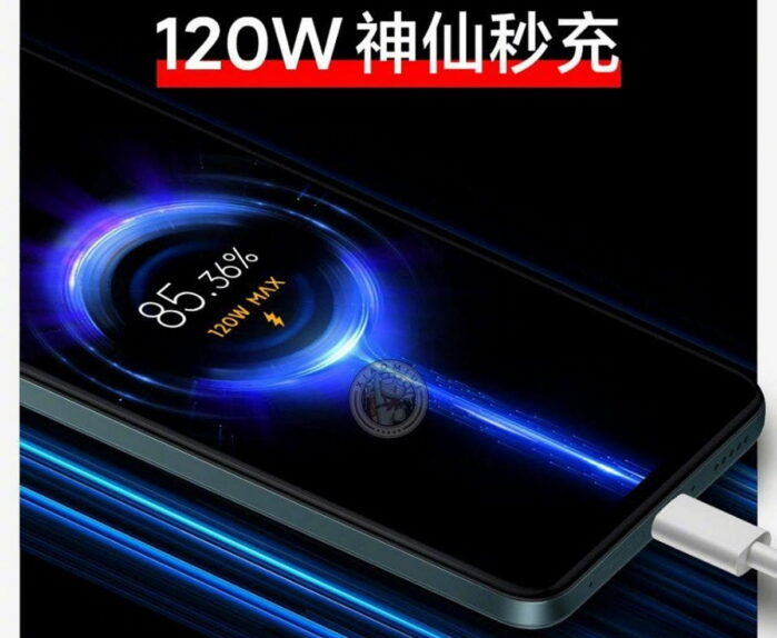 Redmi Note 11 pro Plus con ricarica rapida a 120W