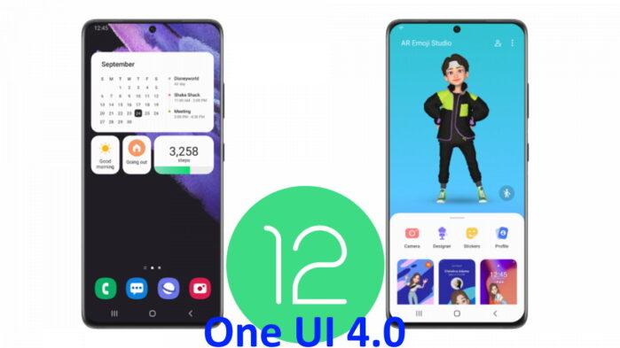 Samsung ONE UI 4.0 beta basata su Android 12