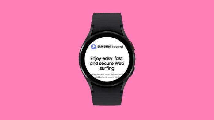 Samsung internet wear os 3 Galaxy Watch 4