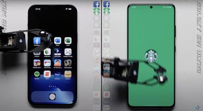 Galaxy S21 Ultra vs iPhone 13 Pro Max